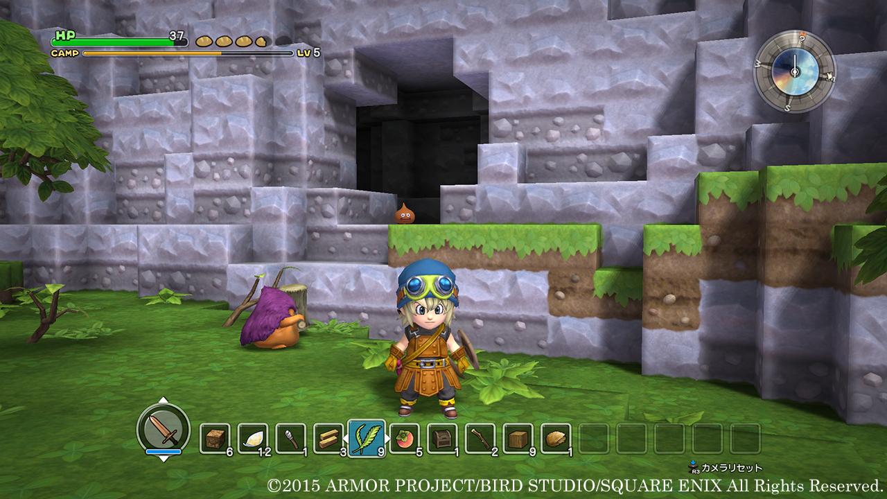 Dragon Quest Builder Quete Annexe