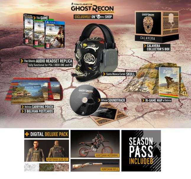 Ghost Recon Wildlands collector Edition