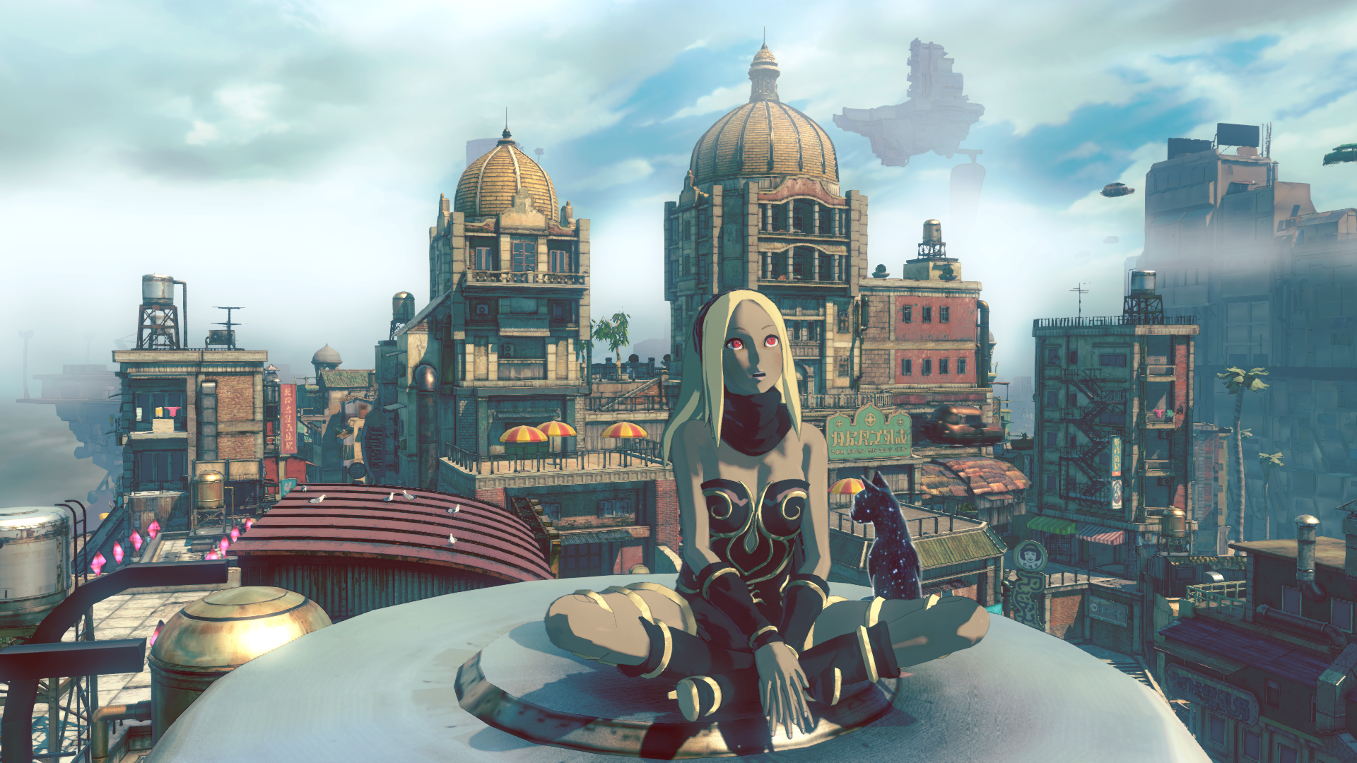 Gravity Rush 2 Screen Démo