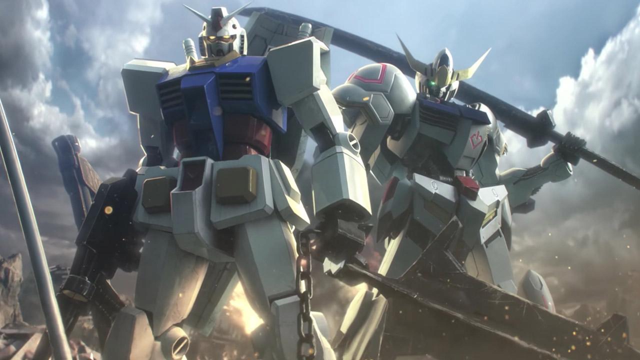 Gundam Versus Bannière