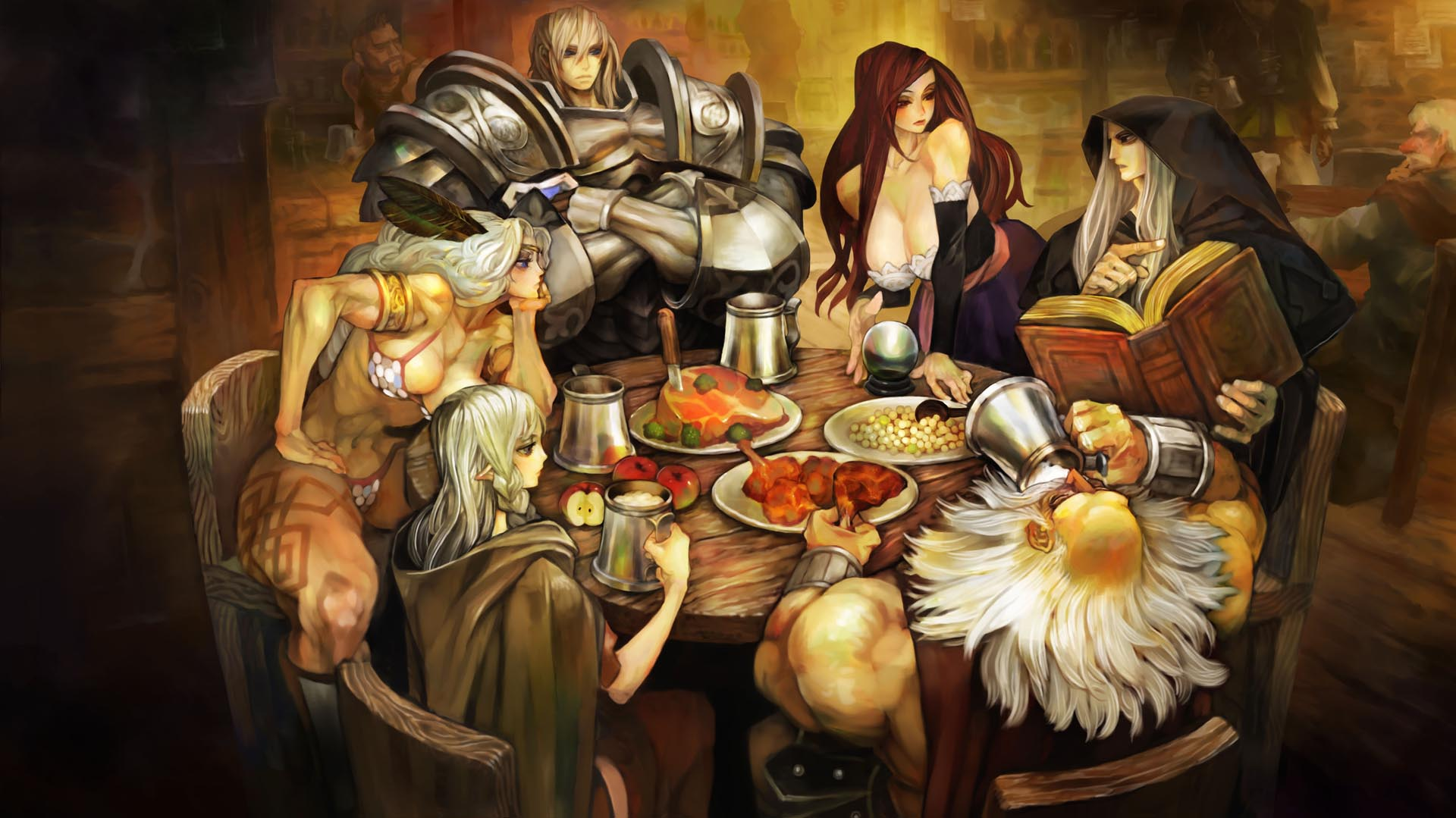 Dragon's Crown Artwork