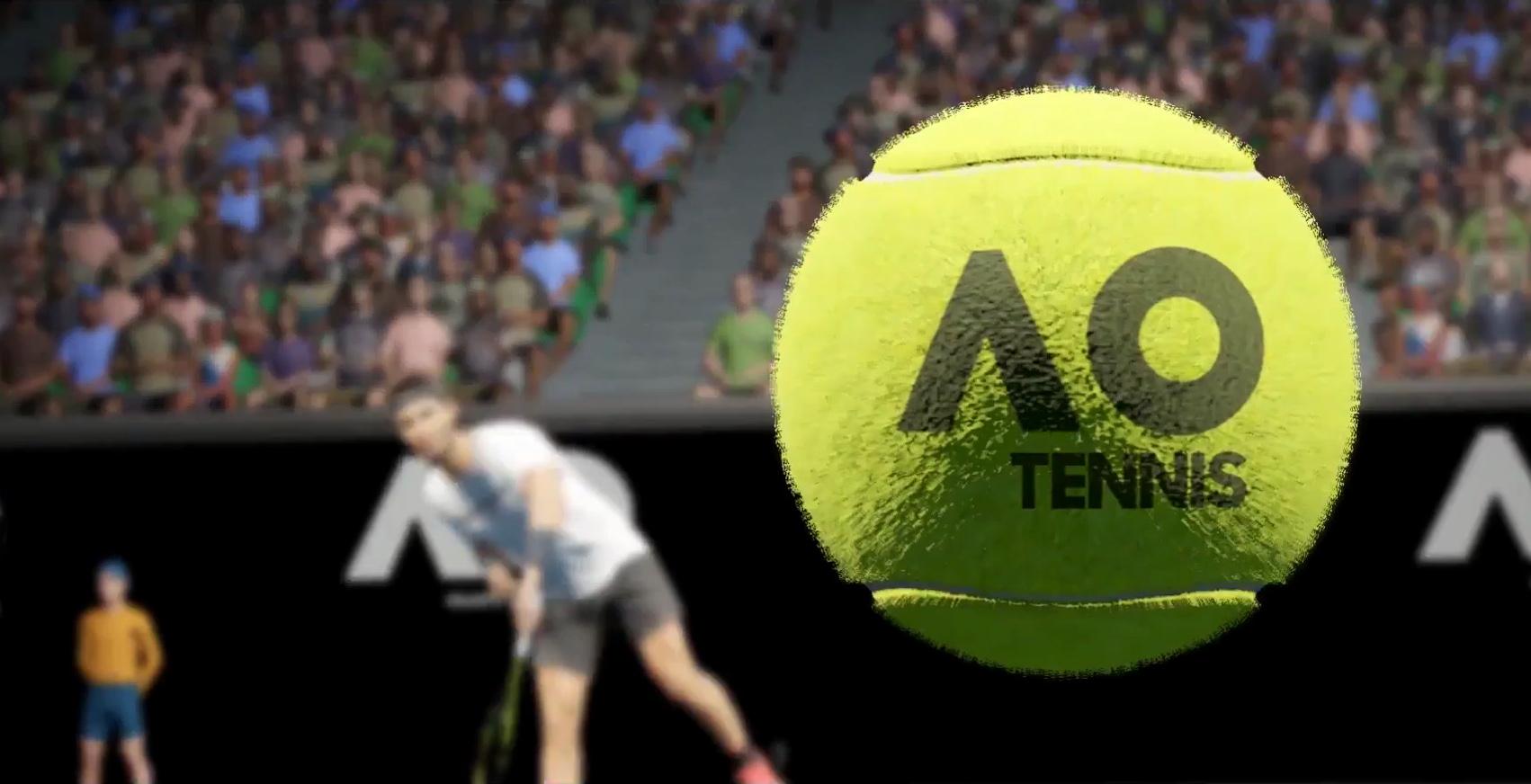 AO Tennis Banner