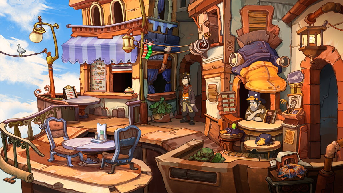 Chaos on Deponia 7