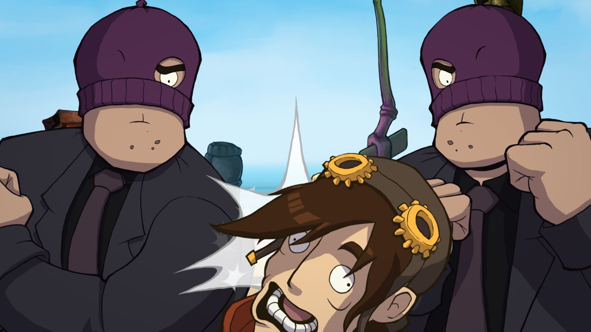 Chaos on Deponia 8