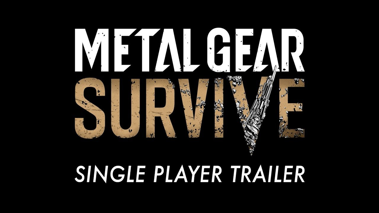 Metal Gear Survive Single Player Trailer