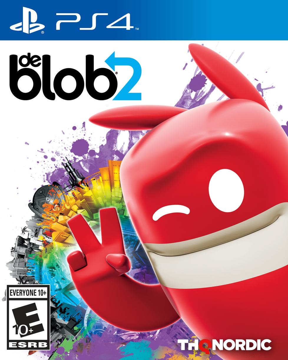de Blob 2 PS4 Boxart