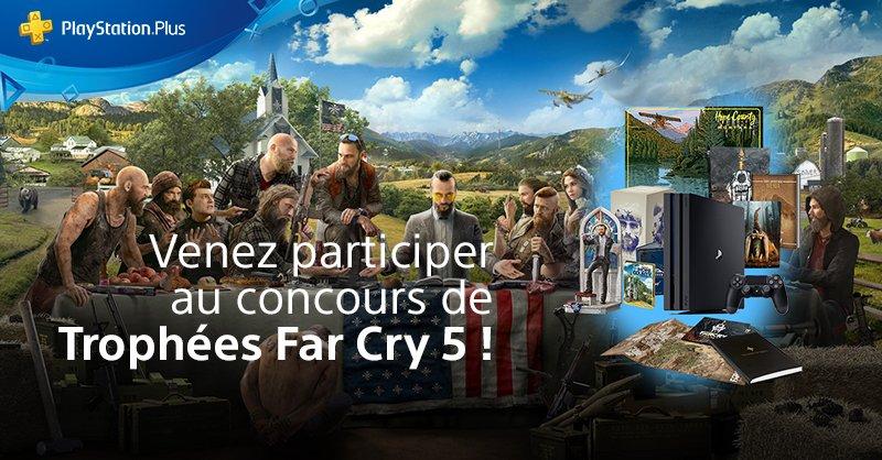 Concours Trophées Far Cry 5