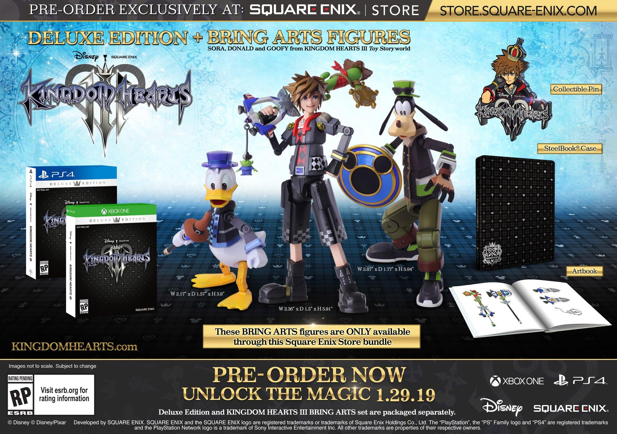 Kingdom Hearts 3 édition collector