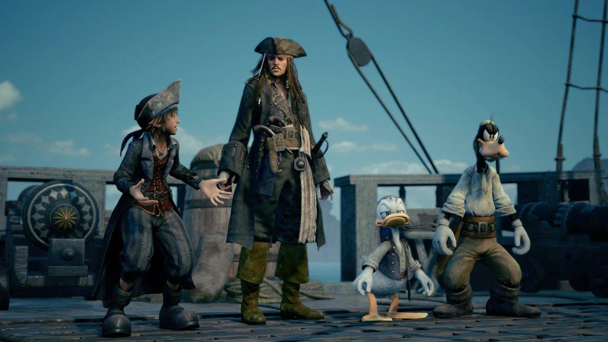 Kingdom Hearts Pirate
