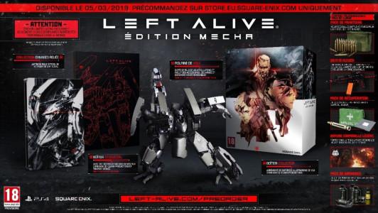 Left Alive édition mecha 2